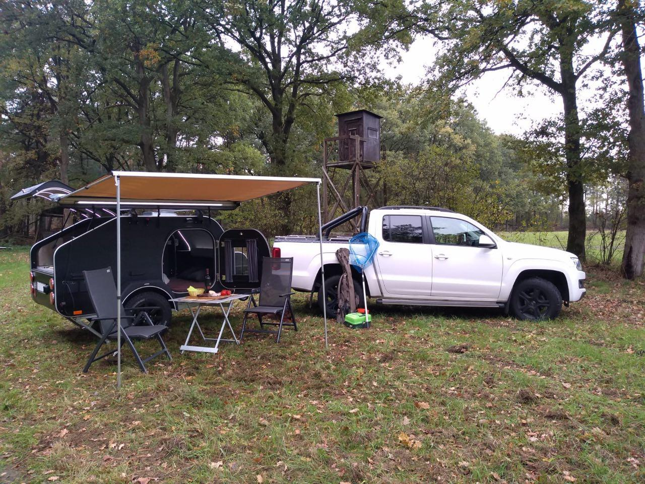 Кемпер X-Line вместо палатки для путешествий